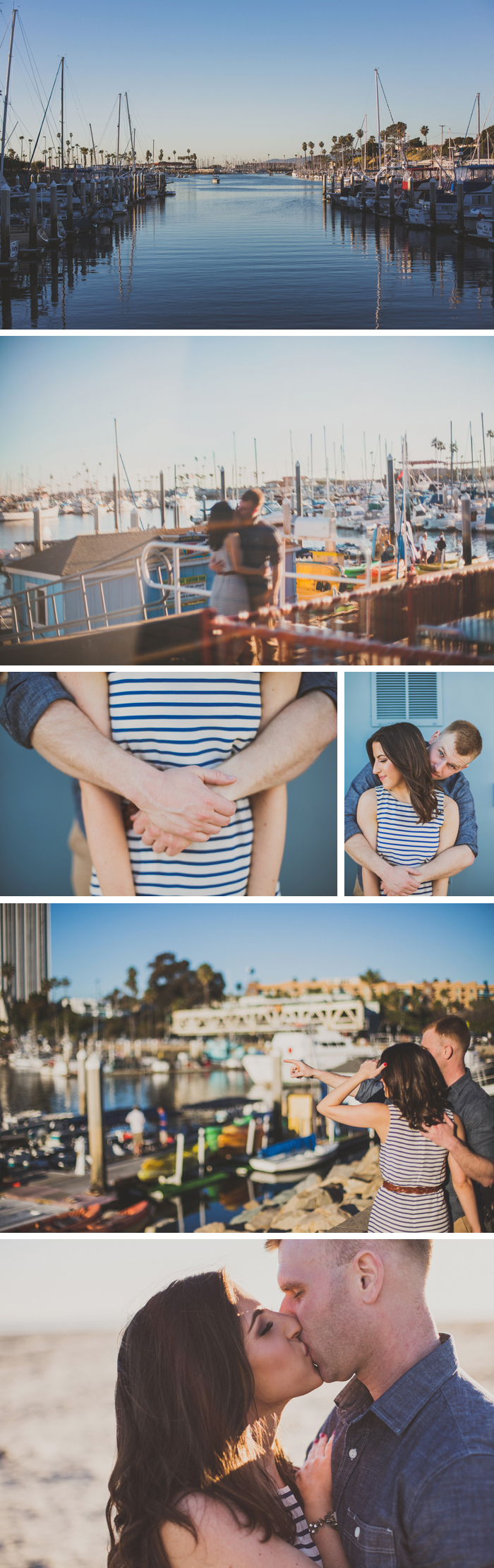 Oceanside Beach Engagement Photos