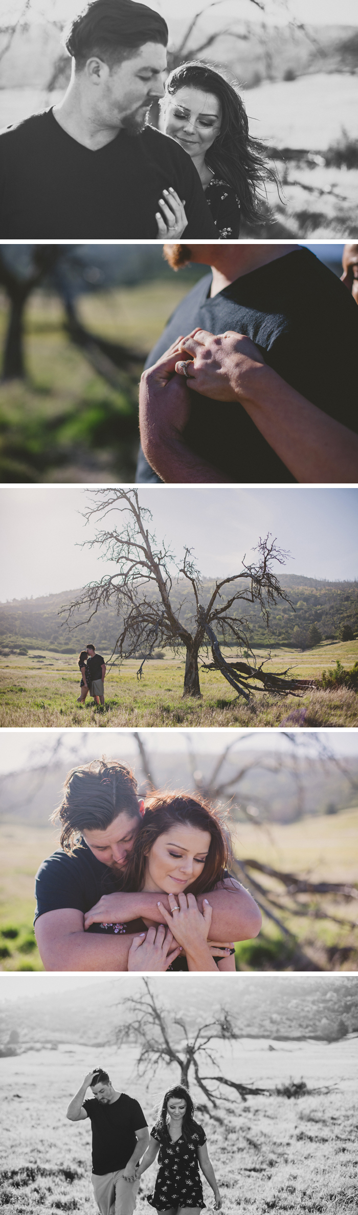 Lake Cuyamaca Engagement Photos