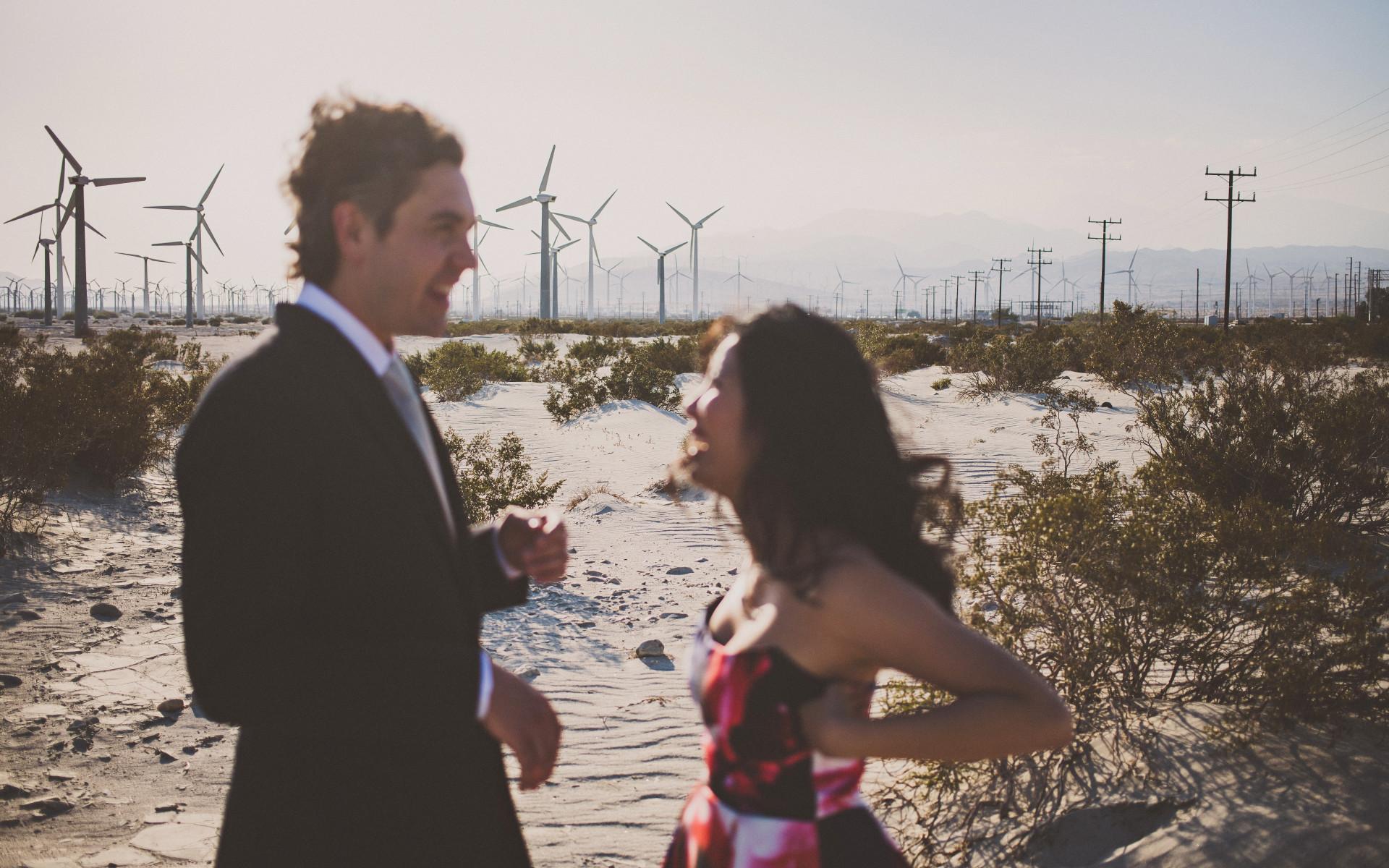 Wedding Photos In Palm Springs Desert