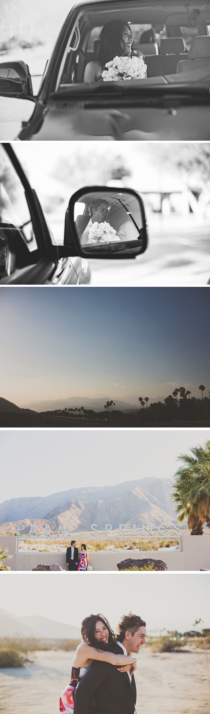 Palm Springs Desert Wedding Photos