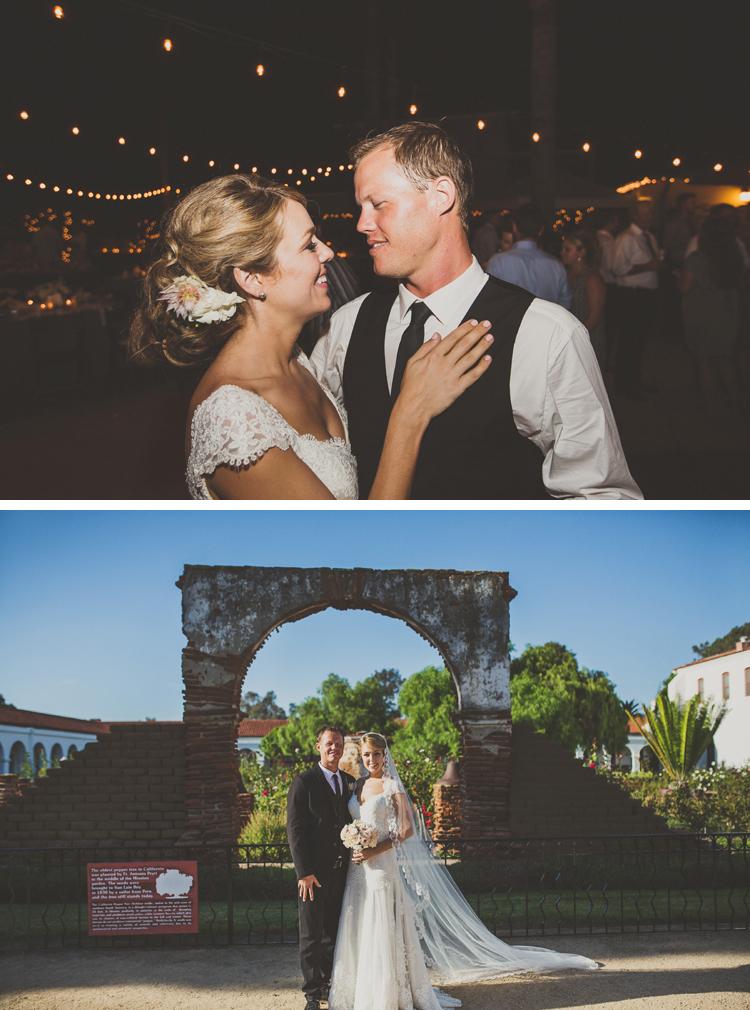 Mission San Luis Rey Wedding Photos