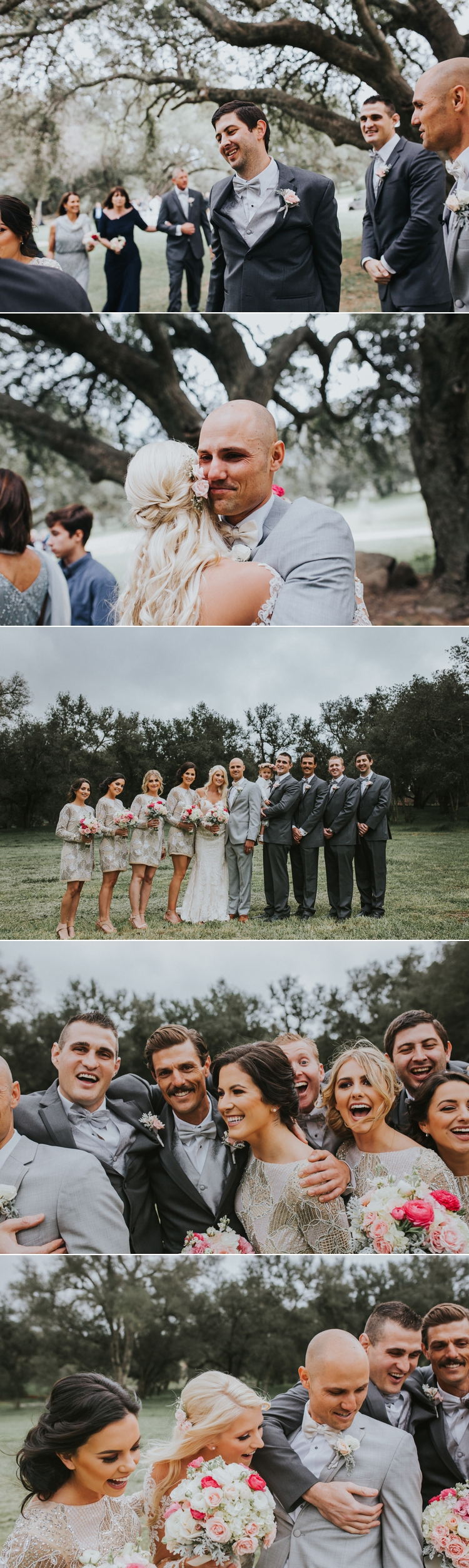 wedding at milagro farms winery