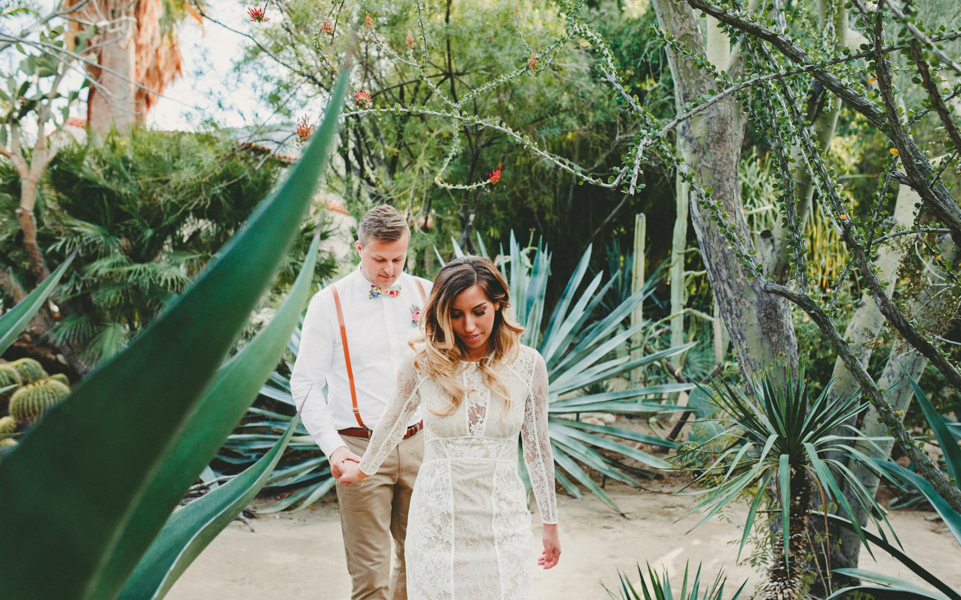 Wedding At Moortens Botanical Garden