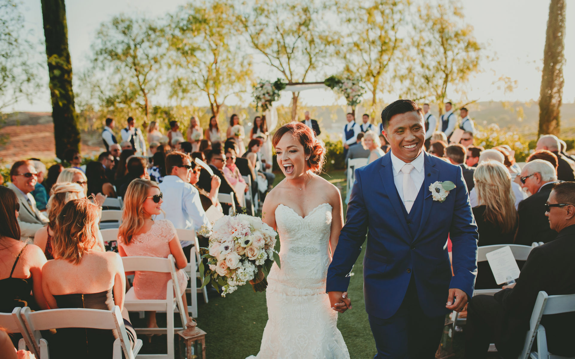 Wedding At Falkner Winery