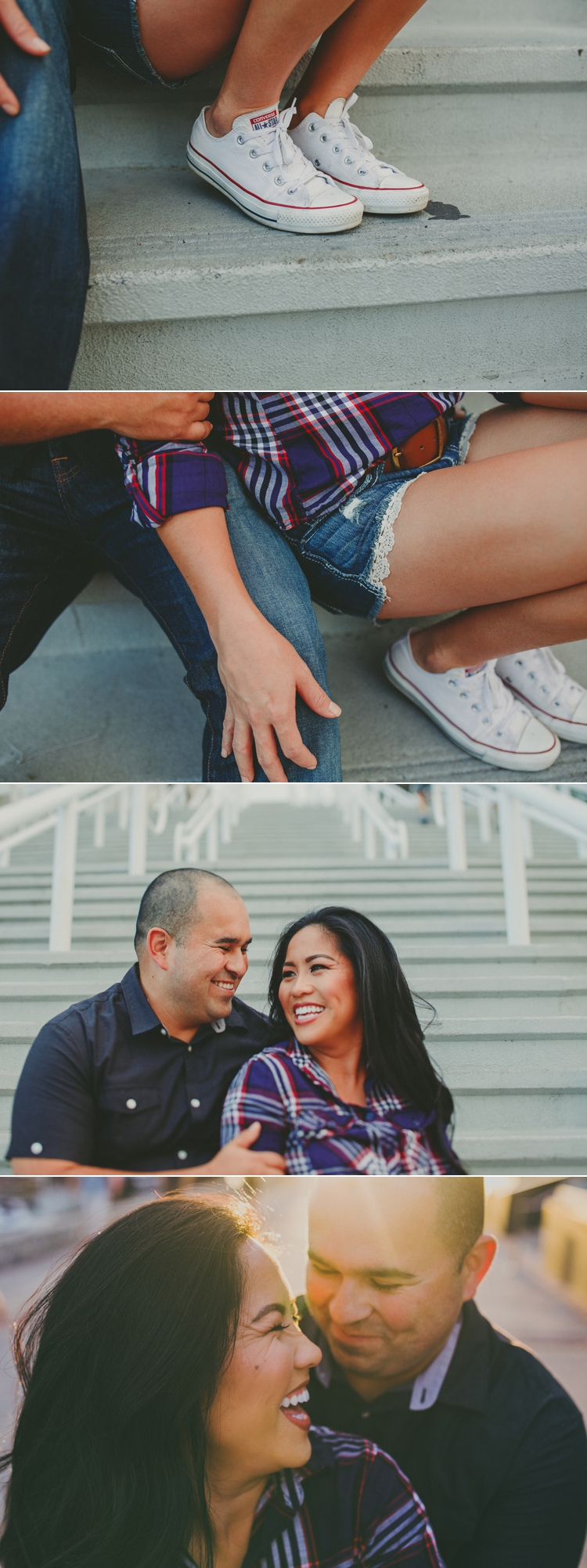 Seaport Village San Diego Engagement Photos