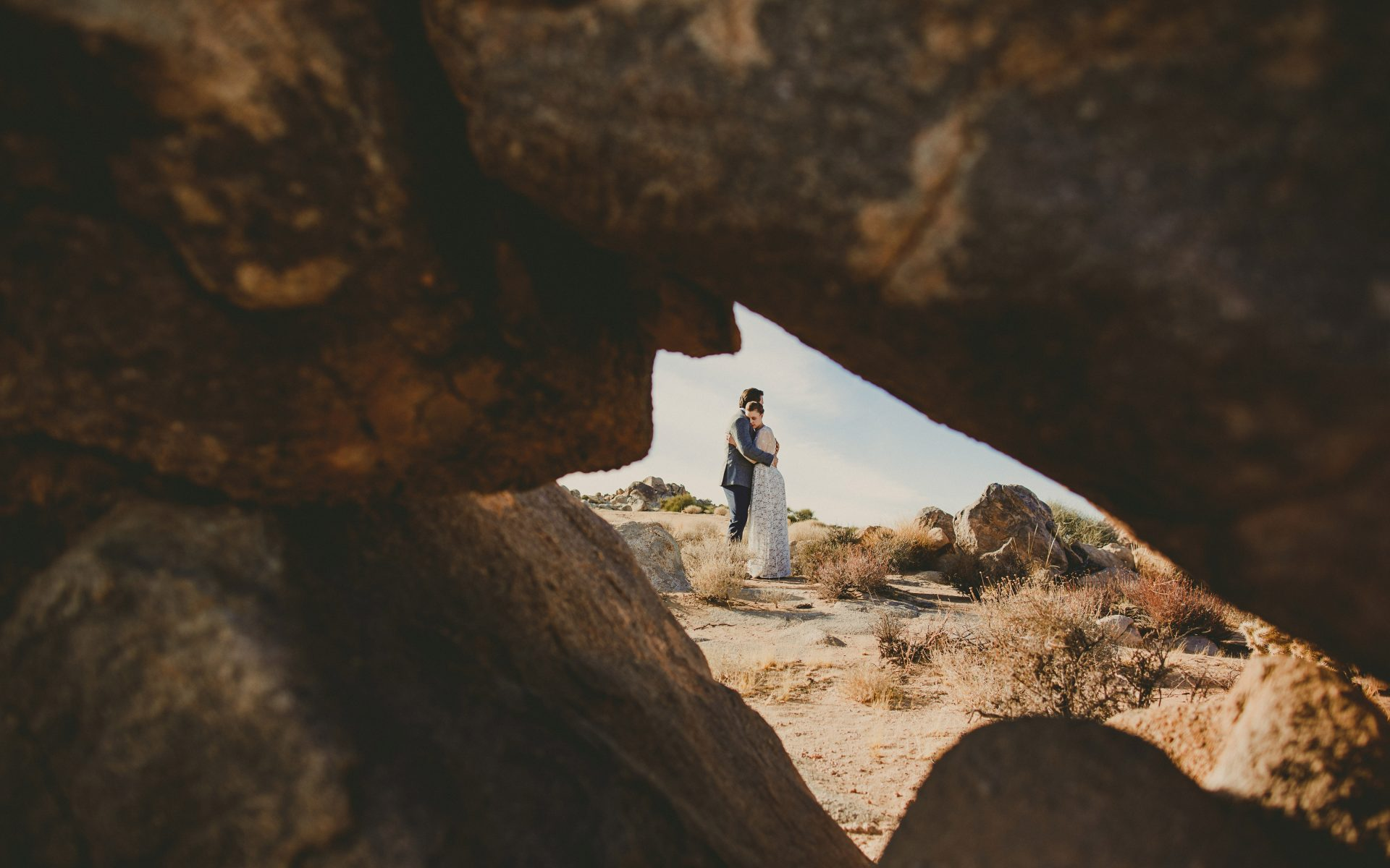 Destination Wedding In Joshua Tree National Park