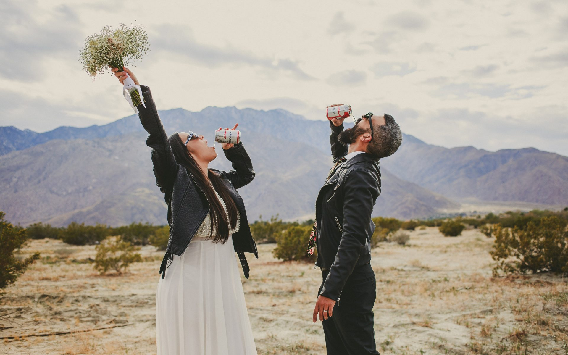 Palm Springs Wedding At Jack LaLanne House