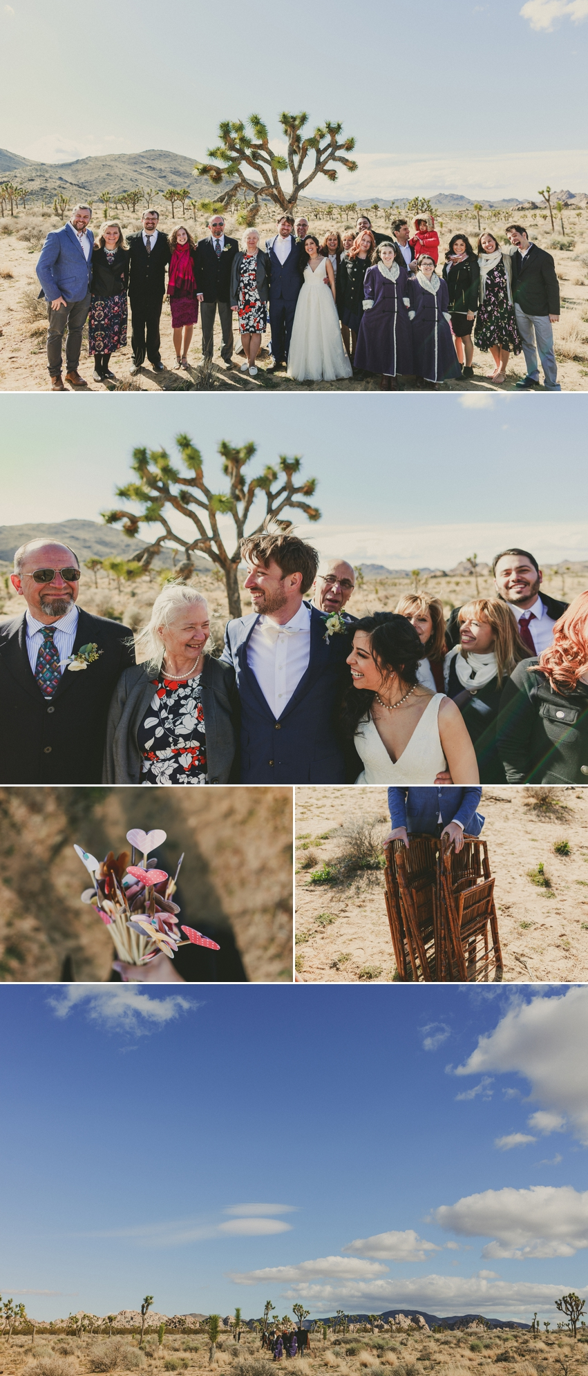 Small Wedding Joshua Tree