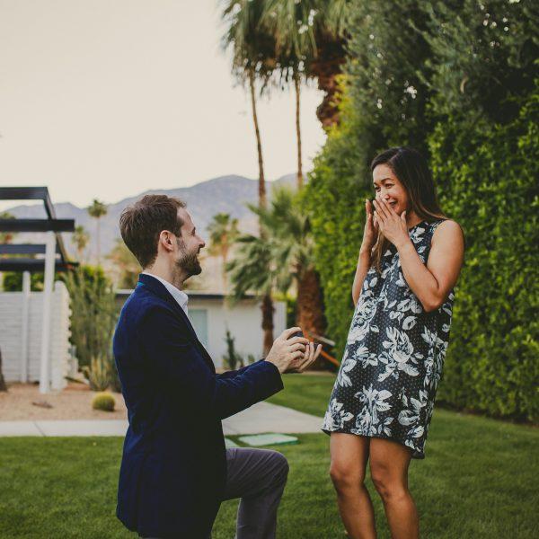 Palm Springs Wedding Proposal