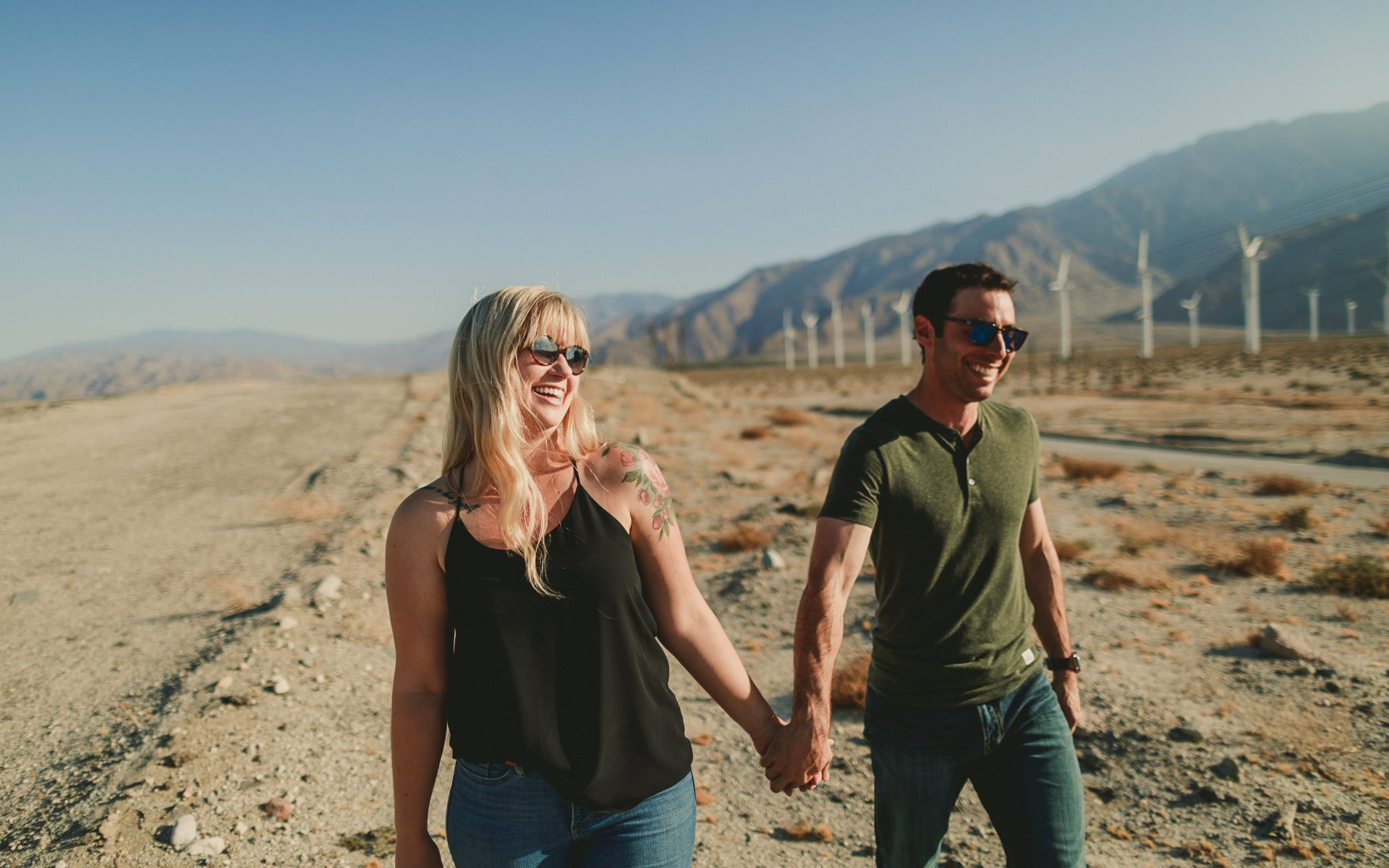 Palm Springs Windmills Photo Session