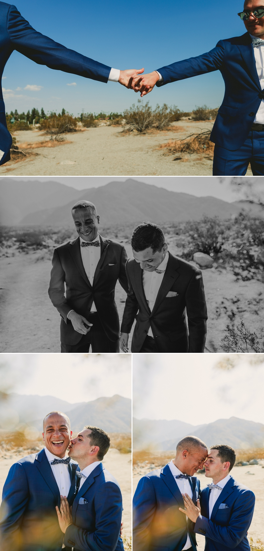 Same Sex Palm Springs Wedding
