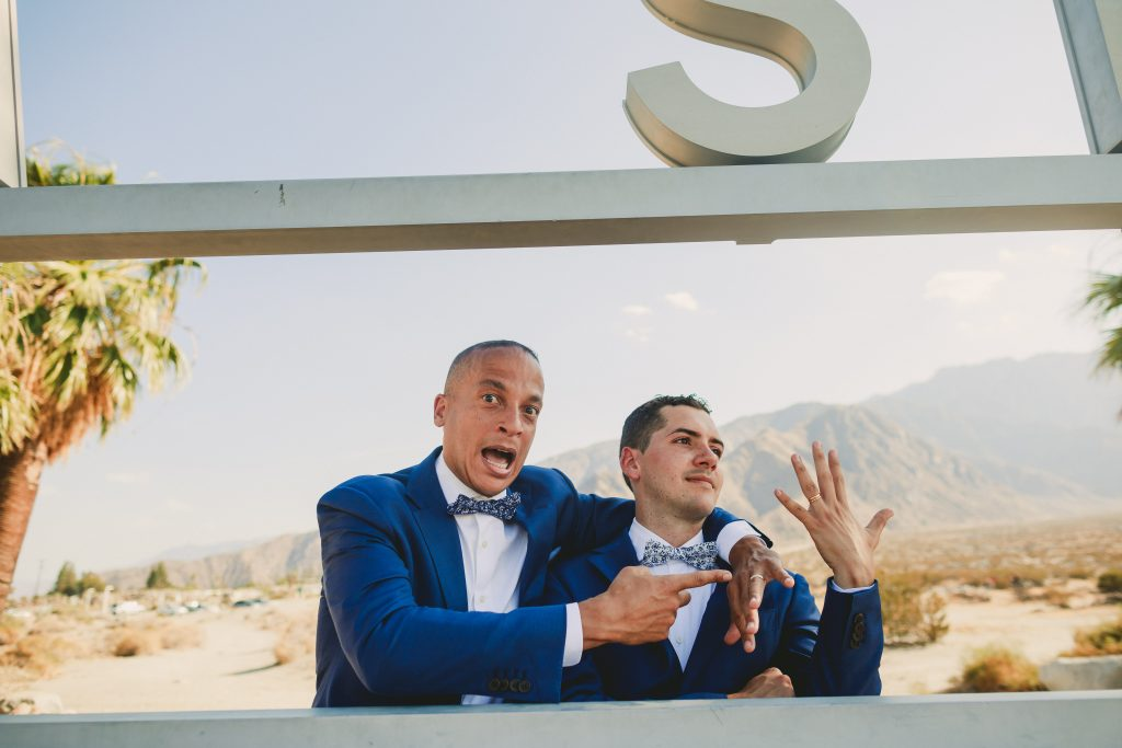 Same Sex Wedding Palm Springs