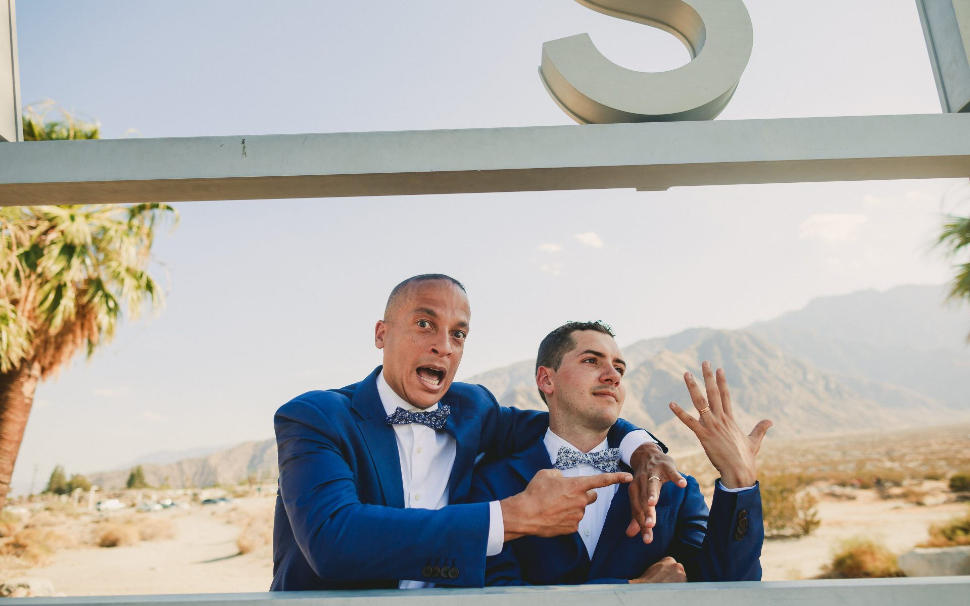 Same Sex Palm Springs Elopement