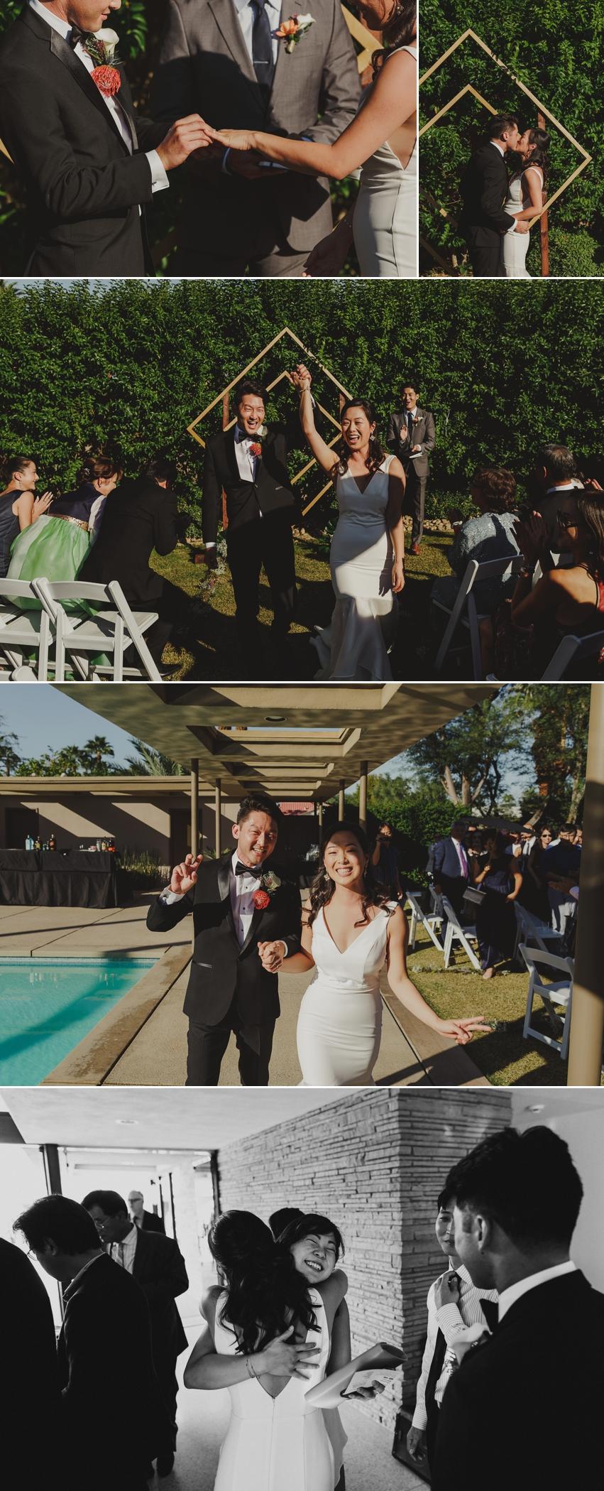 Frank Sinatra House Palm Springs Wedding