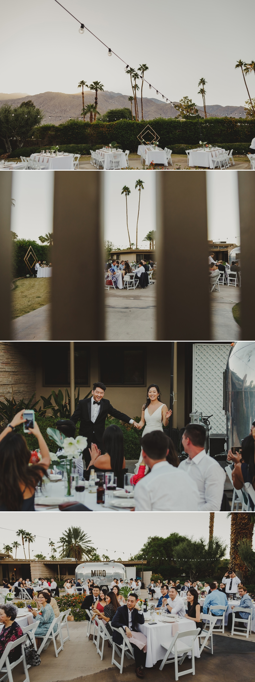 Frank Sinatra House Palm Springs Wedding