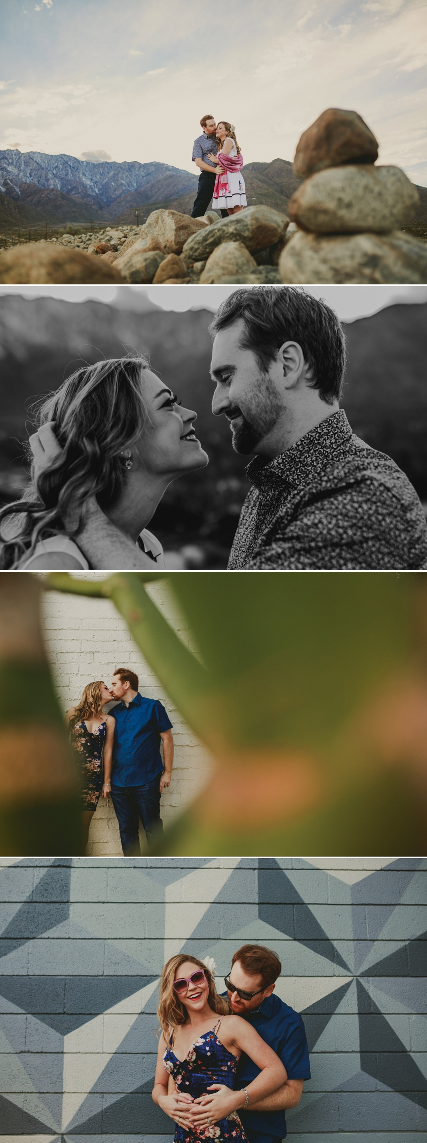 Best palm springs engagement photos
