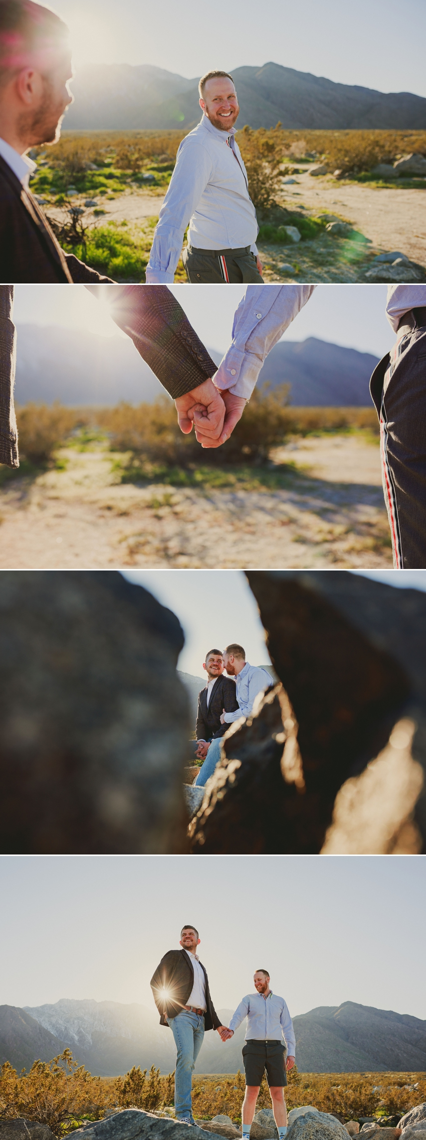 palm springs gay engagement photos