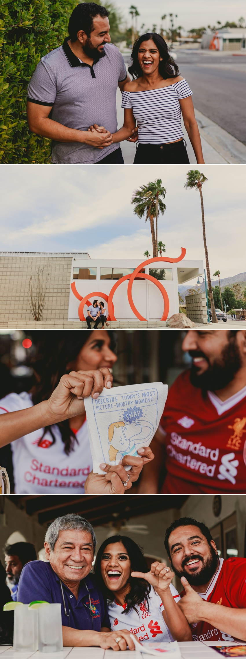 palm springs engagement photo locations