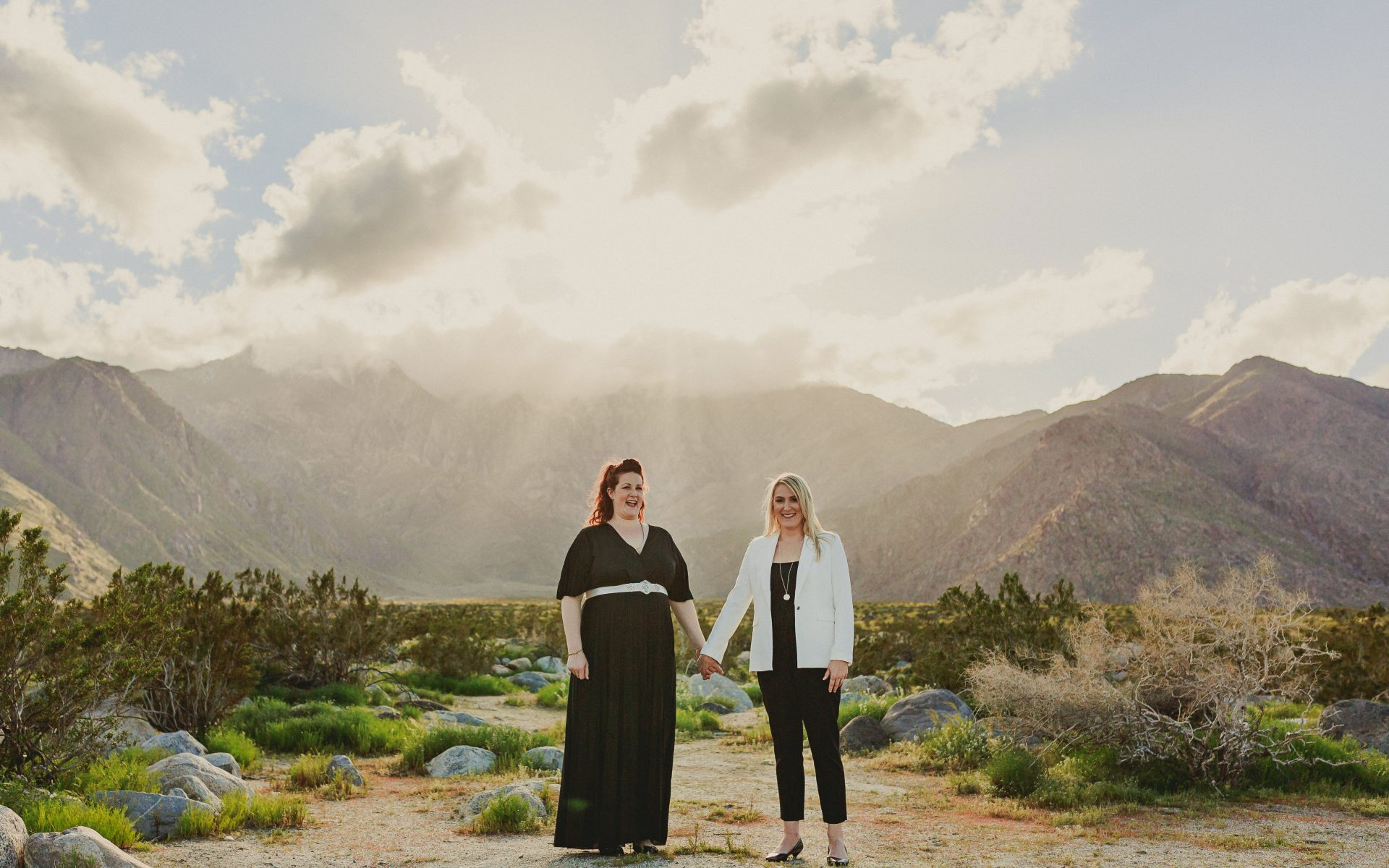 Dazey Desert House Palm Springs Wedding