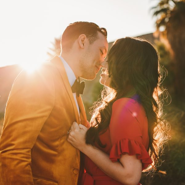 Coachella Preserve Engagement Photos