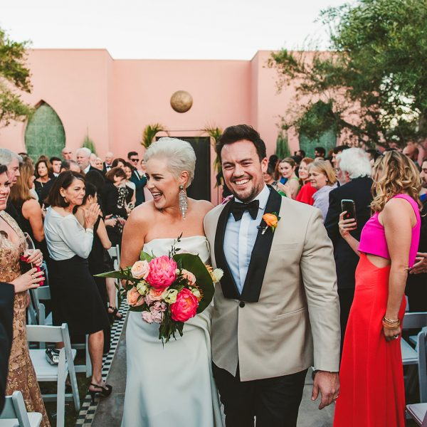 Sands Hotel Palm Springs Wedding