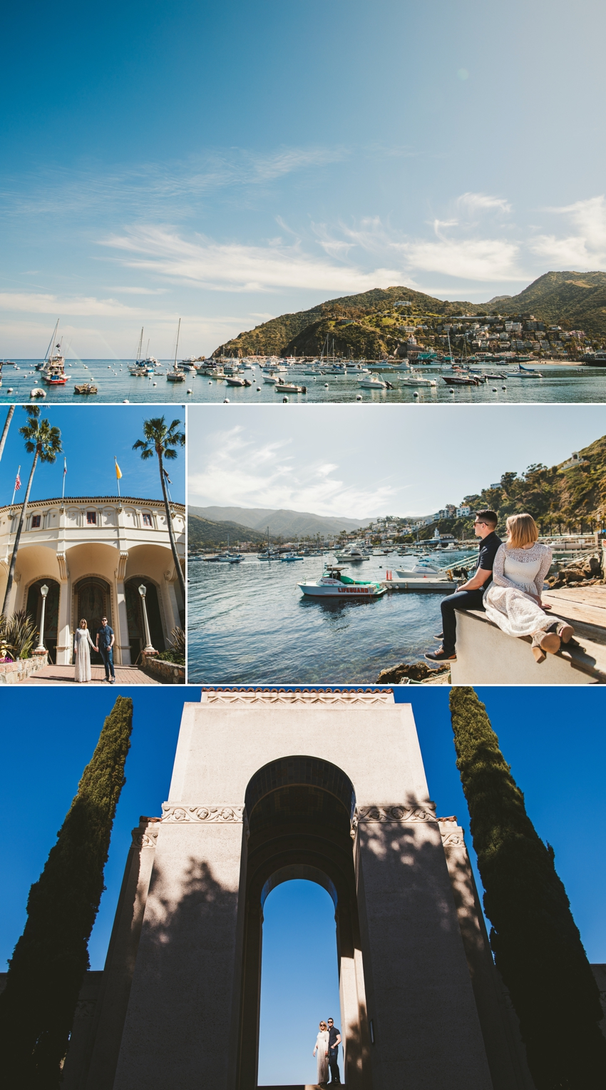 Catalina Island Engagement Photos