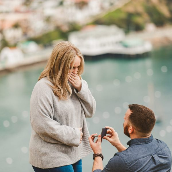 Catalina Island Marriage Proposal