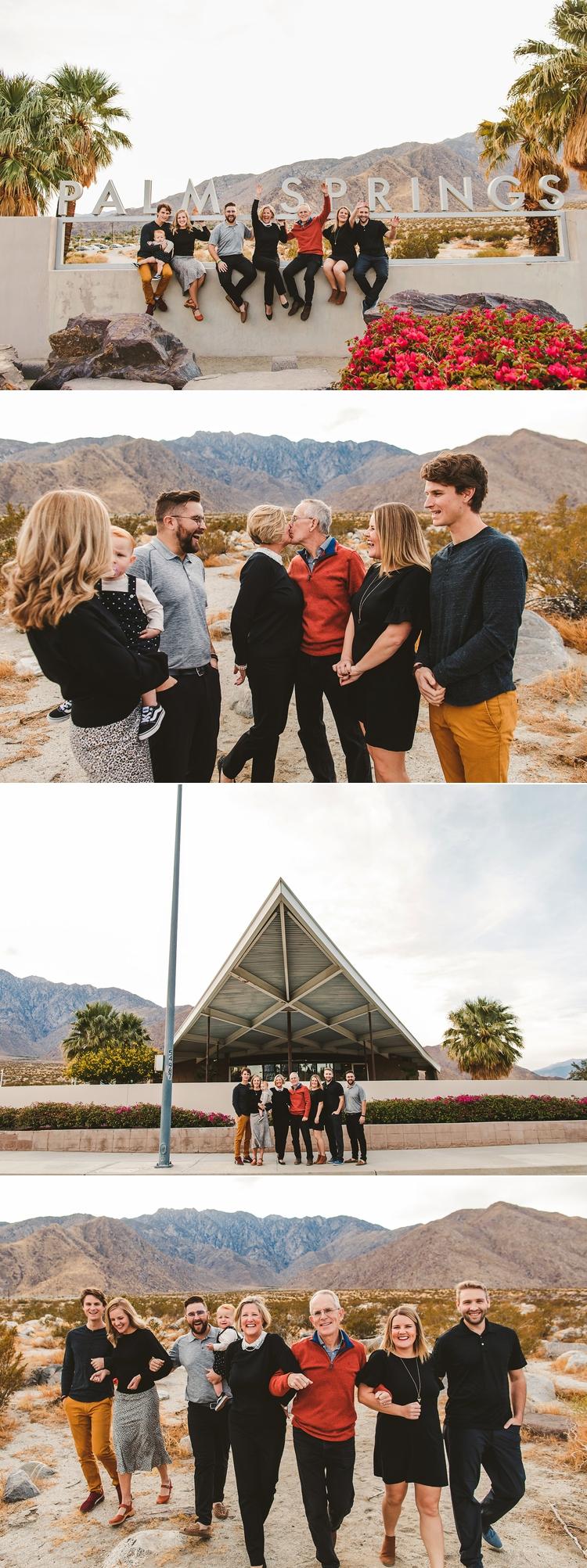 Palm Springs Family Photos