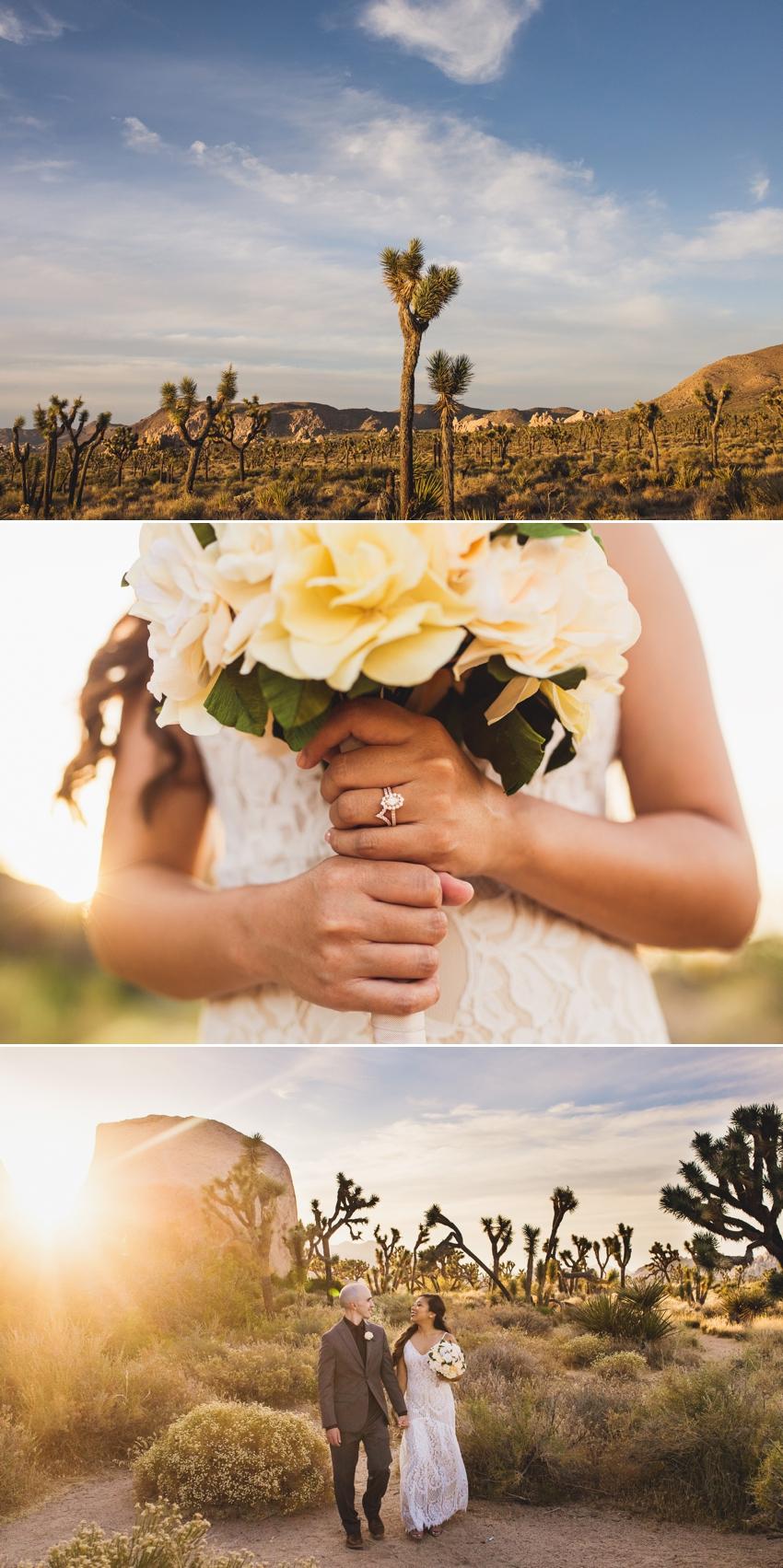 Cap Rock Joshua Tree Wedding