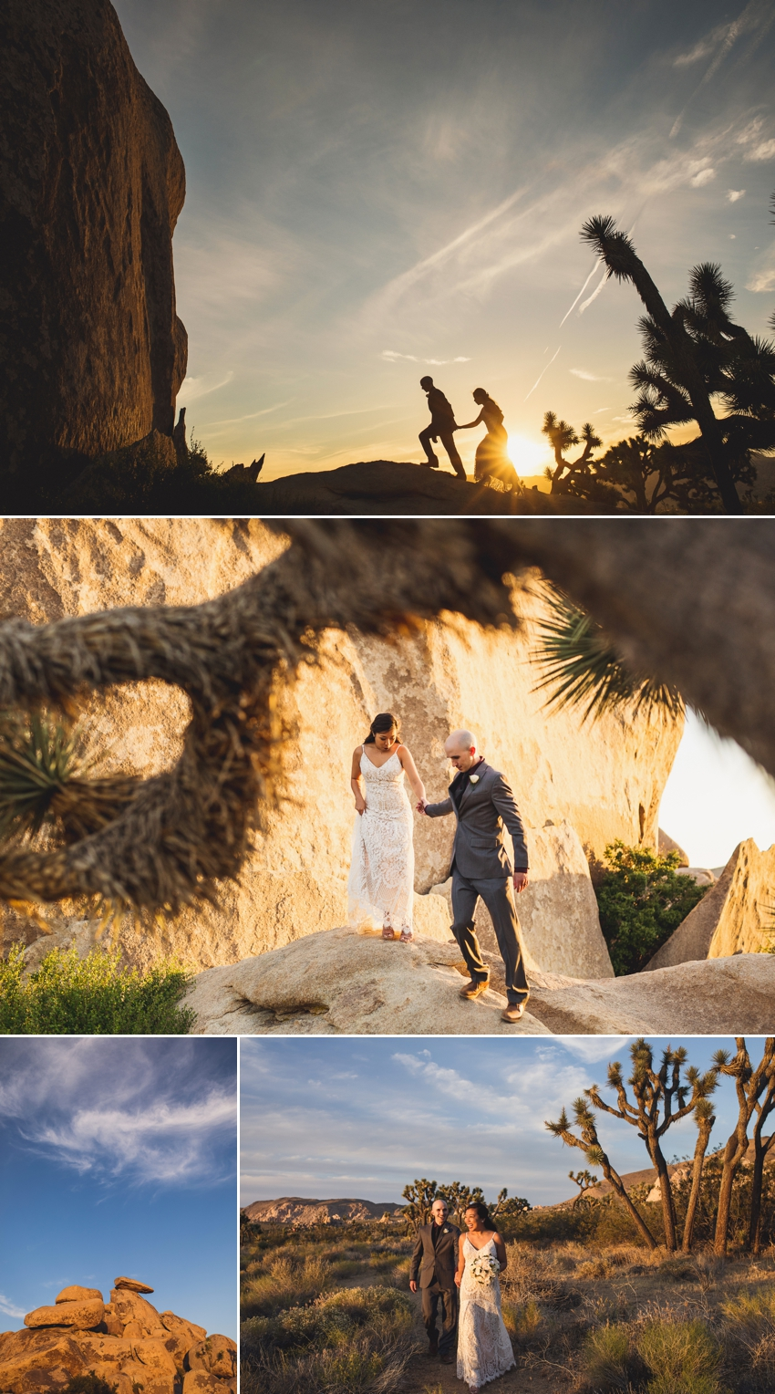 Cap Rock Joshua Tree Wedding